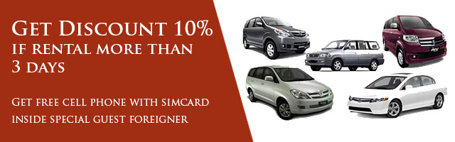Get Discount 10% If Rental More Than 3 days